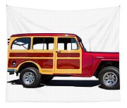 1951 Willy's Jeep Wagon Tapestry