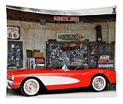 1957 Corvette Hackberry Arizona Tapestry