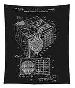 1958 Air Conditioner Patent Tapestry