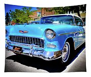 1955 Chevy Baby Blue Tapestry
