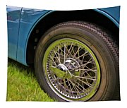 1959 Jaguar X K 150s Wire Wheel Tapestry
