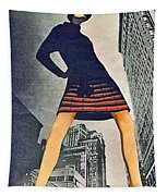 1960 70 Fashion Shot Of Female Model In Usa Tapestry