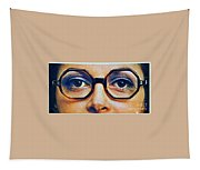 1960 70 Stylish Female Glasses Advertisement 4 Tapestry