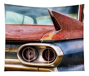 1961 Cadillac Tail Light And Fin Tapestry