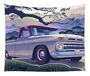 1964 Chevrolet Short Bed Custom Half Ton In The Morning Mist Tapestry