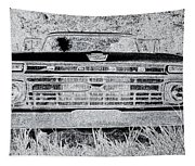 1966 Ford F100 Sketch Tapestry