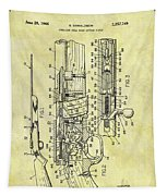 1966 Rifle Patent Tapestry