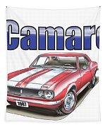 1967 Camaro Tapestry by Thomas J Herring