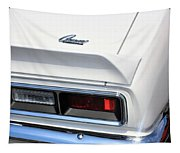 1968 Chevy - Chevrolet Camaro Tail Lights And Logo Tapestry