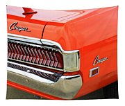1969 Mercury Cougar Tail Light With Logos Tapestry