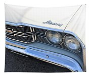 1969 Mercury Montego Mx Grille With Headlights And Logos Tapestry