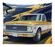 1971 Chevrolet C10 Cheyenne Fleetside 2wd Pickup Tapestry