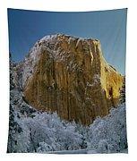 1m6576-winter On El Capitan In 1970 Tapestry