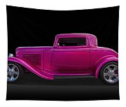 1932 Ford Hot Rod Tapestry