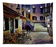 An Evening In Venice Tapestry