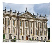 A View Of Chatsworth House, Great Britain Tapestry