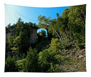 Arch Rock Mackinac Island Tapestry
