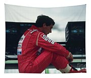 Ayrton Senna. 1992 French Grand Prix Tapestry