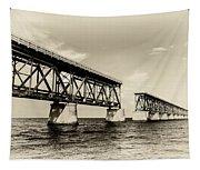 Bahia Honda Bridge Tapestry