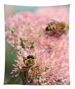 2 Bees Tapestry