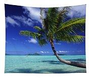 Bora Bora, Palm Tree Tapestry