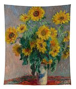 Bouquet Of Sunflowers Tapestry
