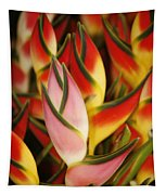 Bunch Of Heliconia Tapestry