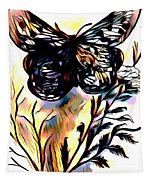 Butterfly Sketch Tapestry