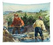 California Gold Rush Tapestry
