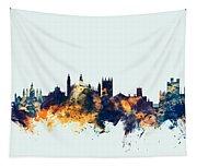 Cambridge England Skyline Tapestry