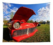Car Grille Tapestry