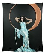 Charles Hall - Creative Arts Program - First Quarter Moon Tapestry