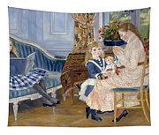 Children's Afternoon At Wargemont Tapestry