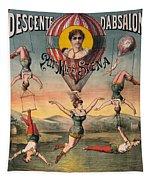 Circus Poster, C1890 Tapestry