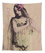 Cleo De Merode Tapestry