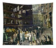 Cliff Dwellers Tapestry
