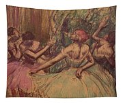 Dancers In The Wings Tapestry