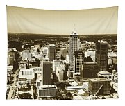 Downtown Indianapolis Tapestry