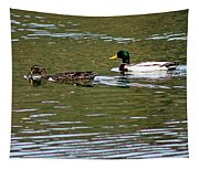 2 Ducks Tapestry