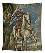 Equestrian Portrait Of The Duke Of Lerma Tapestry