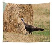 Female Eastern Wild Turkey Tapestry