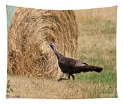 Female Eastern Wild Turkey Tapestry