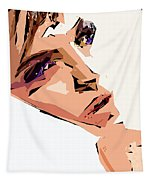 Female Expressions Xii Tapestry