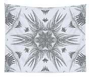 Fern Frost Mandala Tapestry