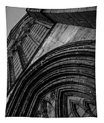 Glasgow Cathedral Bw Tapestry