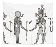 Gods Of Ancient Egypt Tapestry