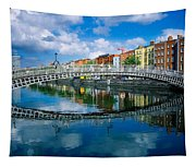 Hapenny Bridge, River Liffey, Dublin Tapestry