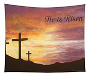 He Is Risen Tapestry