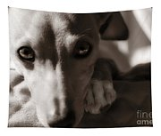 Heart You Italian Greyhound Tapestry