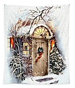 Home For Christmas Tapestry